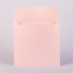 Квадратный конверт 170х170 shine rose 290 г/м2
