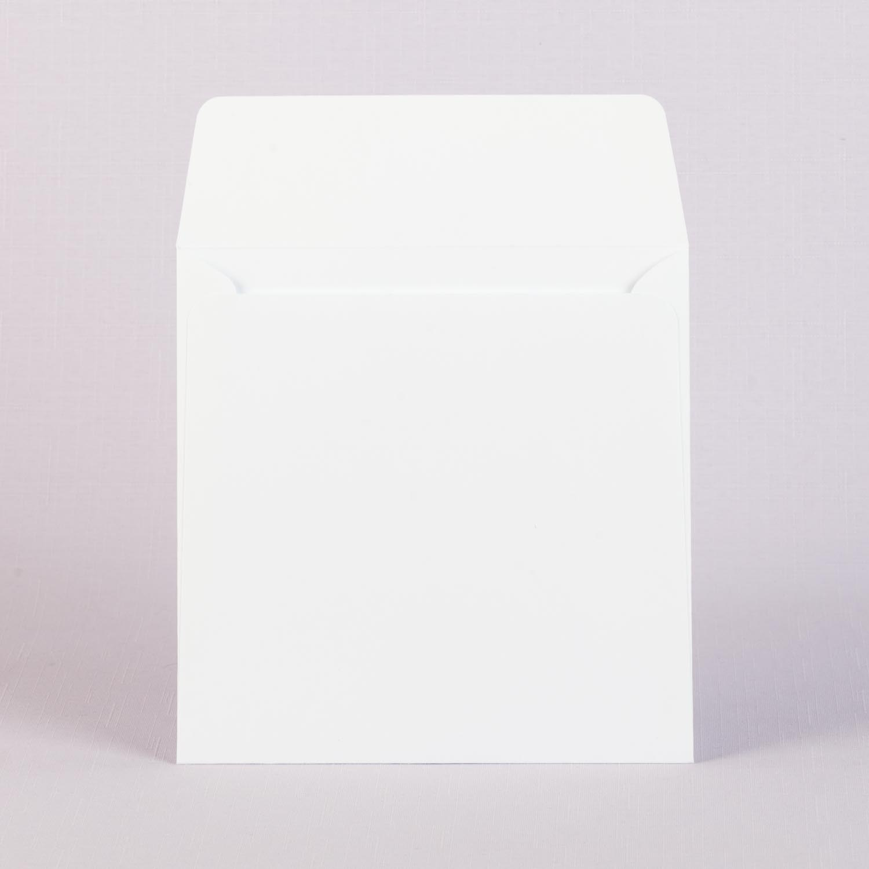 Конверт белый из мелованной бумаги с матовой ламинацией