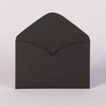 Готовый конверт из черной бумаги Скин 270 г/м2