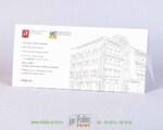 Стильный конверт из перграфики с покруглым клапаном