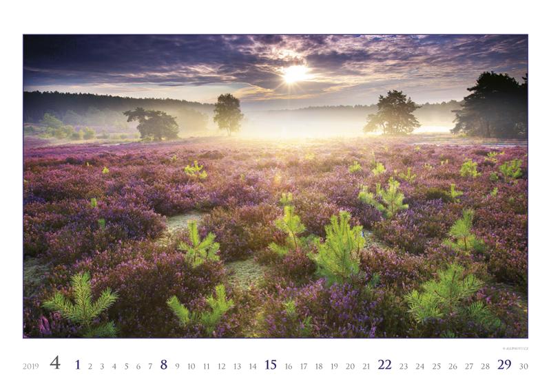 Апрель календаря