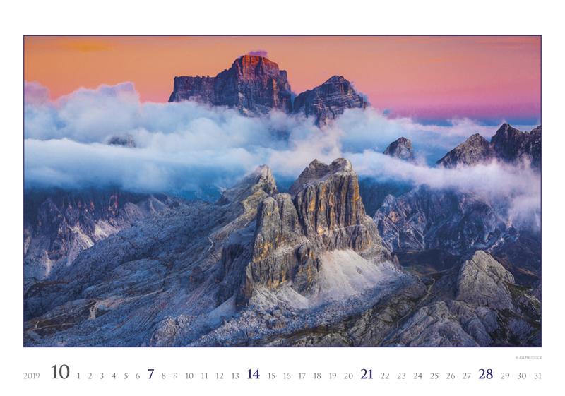 Октябрь календаря