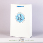 Бумажный пакет А4 с односторонней печатью
