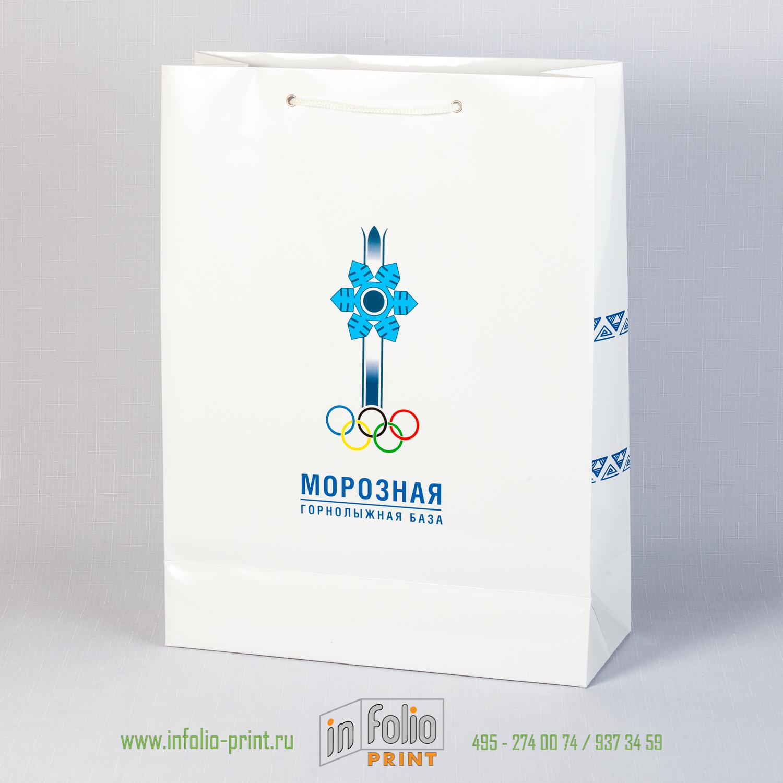 Вместительный пакет для большого количества рекламных материалов