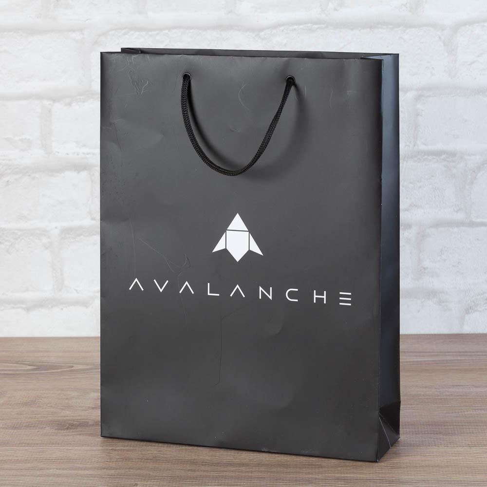 Матовый ламинированный черный пакет AVL