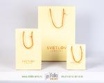 Матовый пакетик для ювелирных изделий