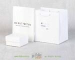 пакетик из белого крафта для ювелирныз изделий