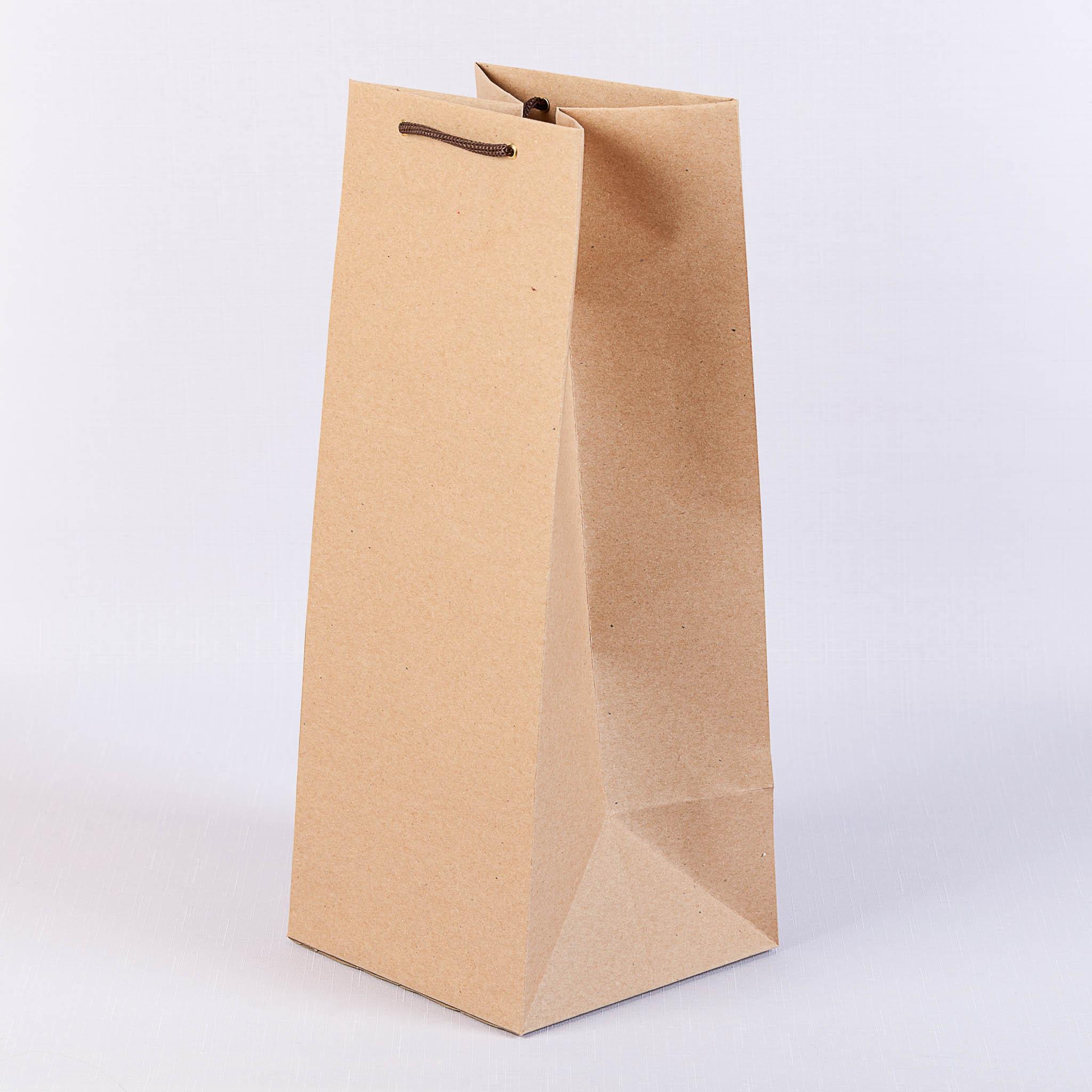 Пакет из крафта 160 г/м2 без печати