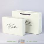 набор пакет и подарочная коробка
