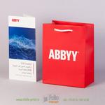 евробуклет и пакетик для подарка