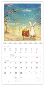 вид календаря календаря