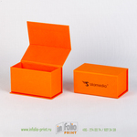 Коробка для визиток с логотипом