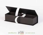 коробка для бижутерии с атласными лентами