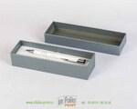 твердая коробка с ложементов серебро