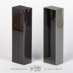 Коробка- пенал с прозрачной обечайкой