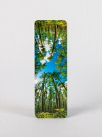 Закладка для книги с тропическим лесом