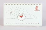 Веселый календарь с овечками для Московской Филармонии
