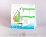 настольный календарь с круглыми листами