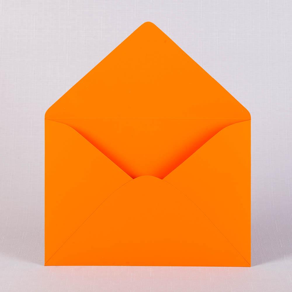 Ярко оранжевый конверт