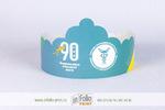 бумажная корона для городского праздника