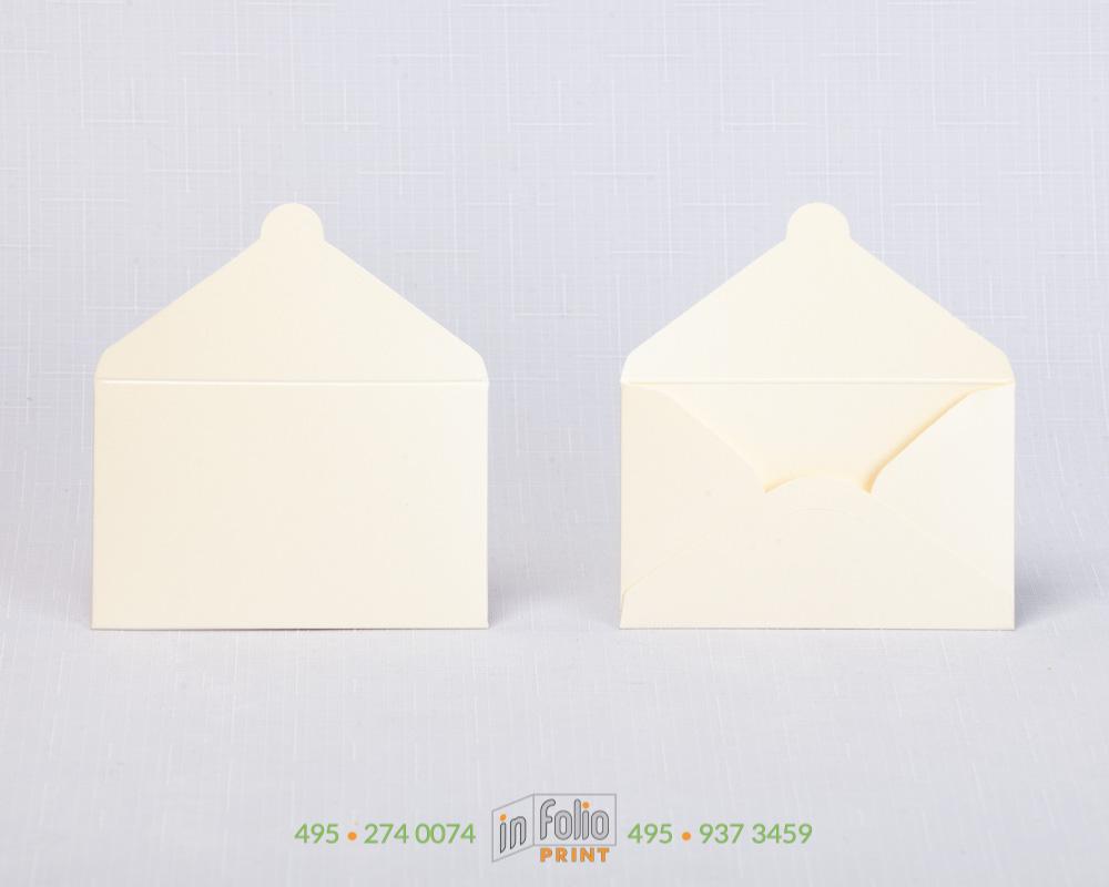 конверт из маджестика для карты