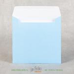 Конверт 15х15 голубой из офсетной бумаги