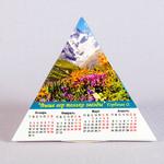 Календарь-пирамидка с глянцевой ламинацией