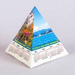 Самосборный календарь пирамида