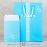 Подарочный пакет и конверт с защитной лентой
