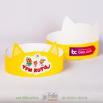 Детская корона для проведения праздников - кошка