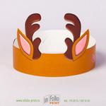 Корона для проведения детских праздников - олень