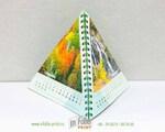 Перекидной календарь пирамидка с природой