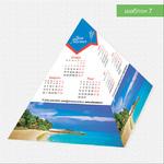 Календарь-пирамидка