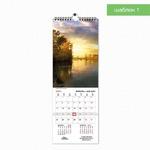 Шаблон 1 делового настенного календаря