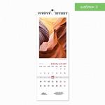 Шаблон 3 делового настенного календаря