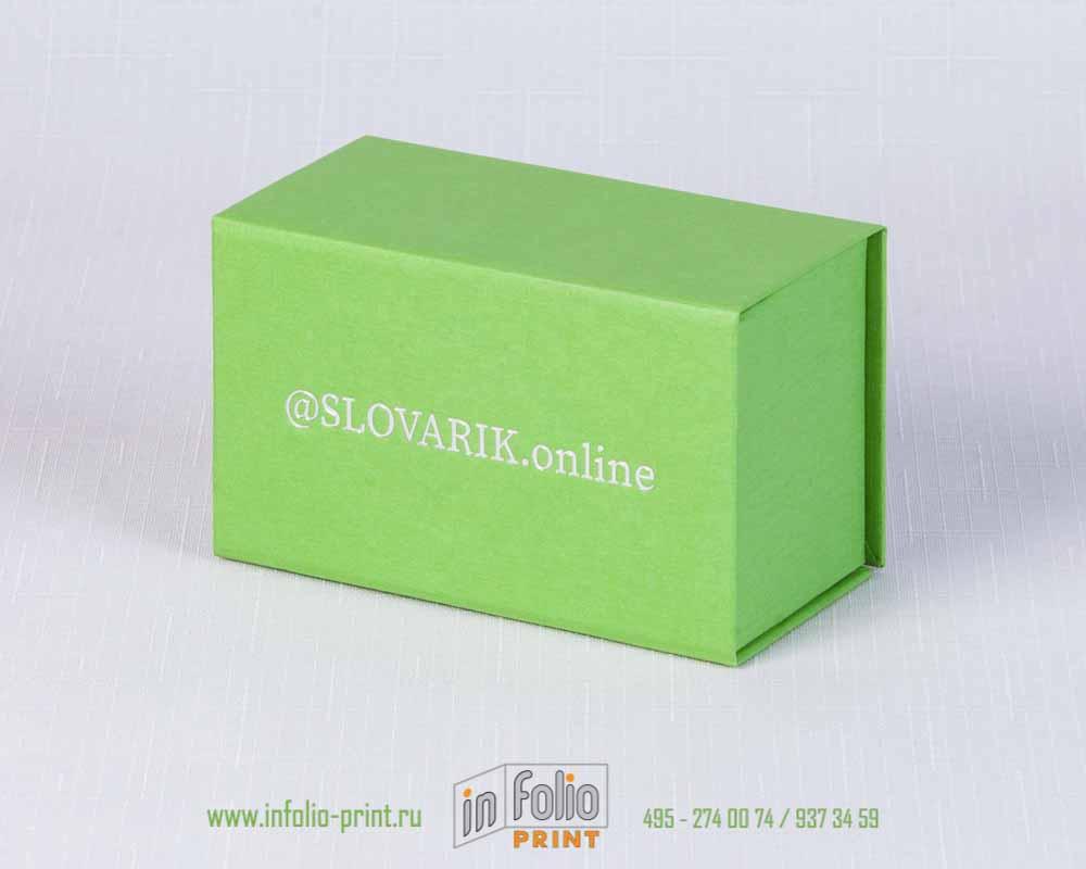 коробка для карточек - изучение англичских букв и цифр